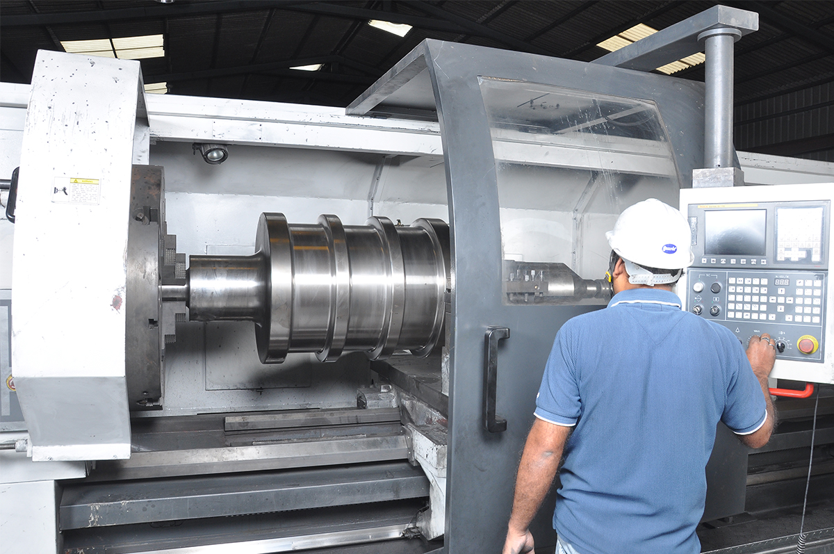 mill rolls manufacturing image