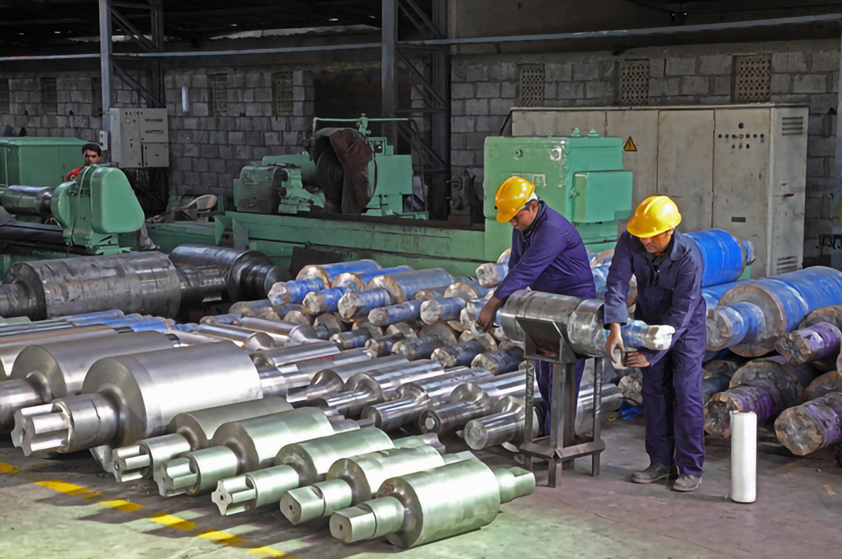 steel and alloy rolls manufacturing